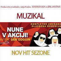 Sreda, 20. 3., ob 20. uri: Muzikal Nune v akciji!, Dom kulture Braslovče - 1590792081